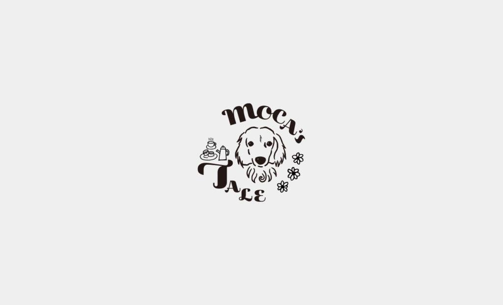 モカズテイル ロゴデザイン